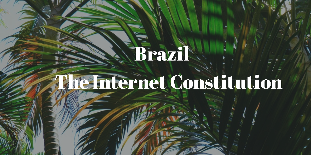 Brasilien och internet consitution