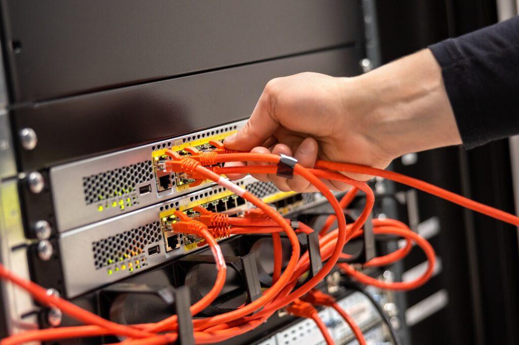 Nätverls router