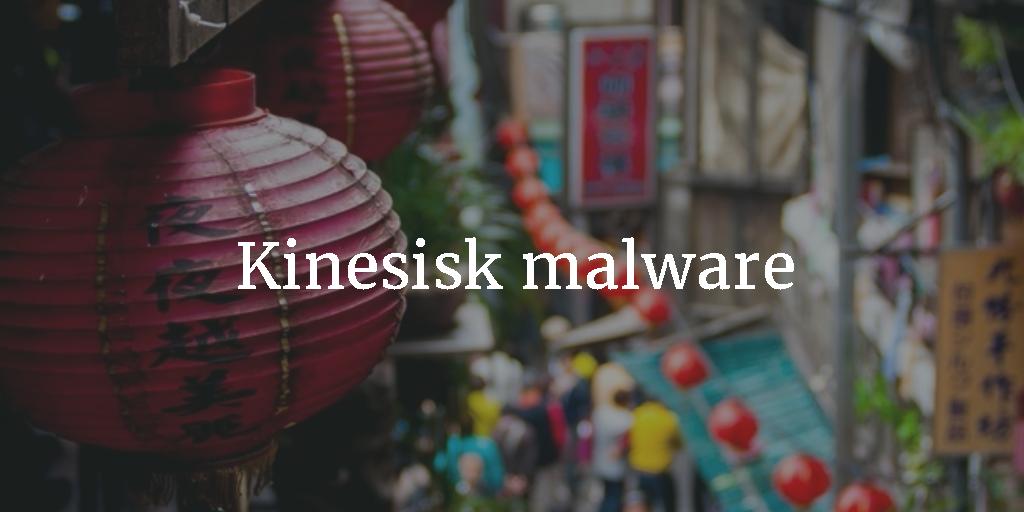 Kinesisk malware