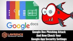 Massivt nätfiske i Google Docs