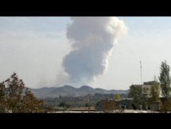Misstankar att datamasken Stuxnet orsakat bombexplosion vid missilbas