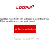Loopia utsatt för rysk nätfiske attack
