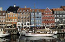 Foto på Nyhavn i Köpenhamn, Danmark