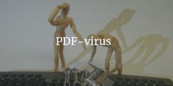 PDF-virus har hittats hos regeringar i flera länder