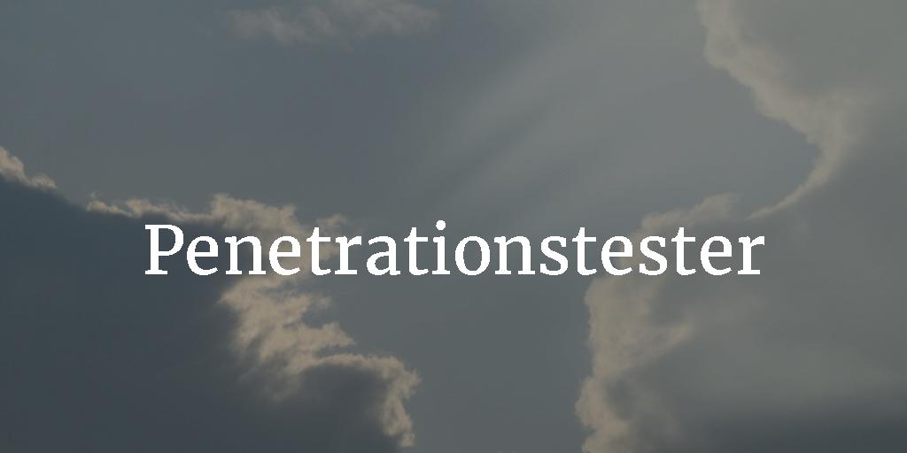 Penetrationstester