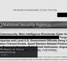 Topphemlig NSA rapport avslöjar ryska hackerförsök dagarna före presidentvalet 2016