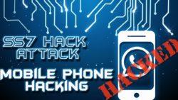 SS7 Telefoni för att komma igenom två-faktor autentisiering