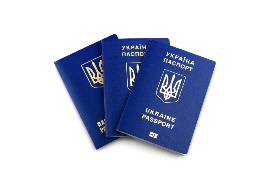 Ukrainskt biometriskt pass