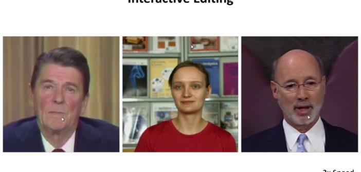 Video manipulering som kan reproducera dina ansiktsintryck